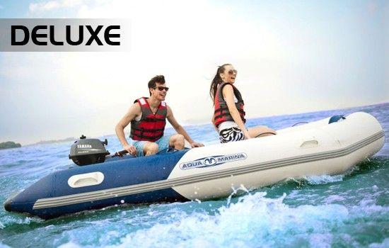 Aqua Marina Deluxe Sport gumicsónak 3,6m Alu. Padló, BT 06360AL